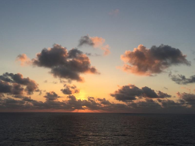 1254 8-12 Sunset clouds